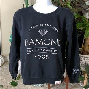 Diamond supply Co. sweat shirt
